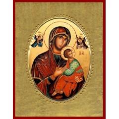 Madonna del Perpetuo Soccorso  15x20 cm.