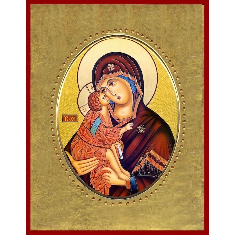 Vergine della Tenerezza 15x20 cm.