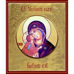 La Vergine della Tenerezza ø 12 cm.