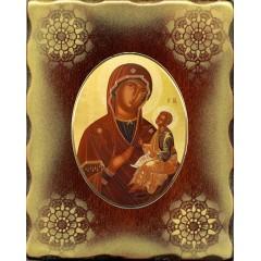 La Madonna di Sclavons 15x20 cm.