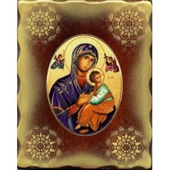 La Madonna del Perpetuo Soccorso 15x20 cm.