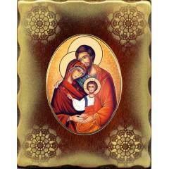 La Sacra Famiglia 15x20 cm.