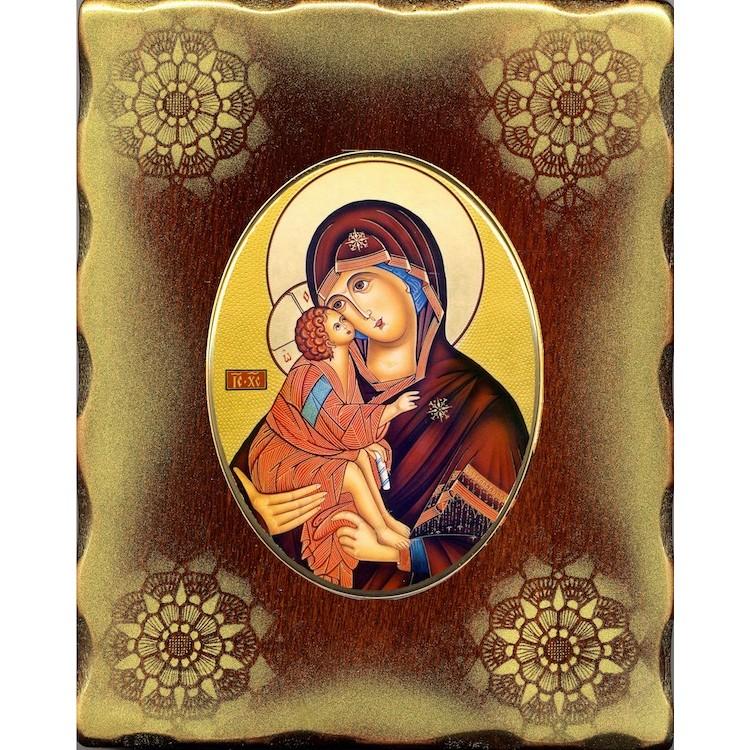 La Vergine della Tenerezza 15x20 cm.