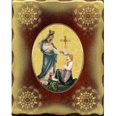 La Madonna di Porzus 15x20 cm.