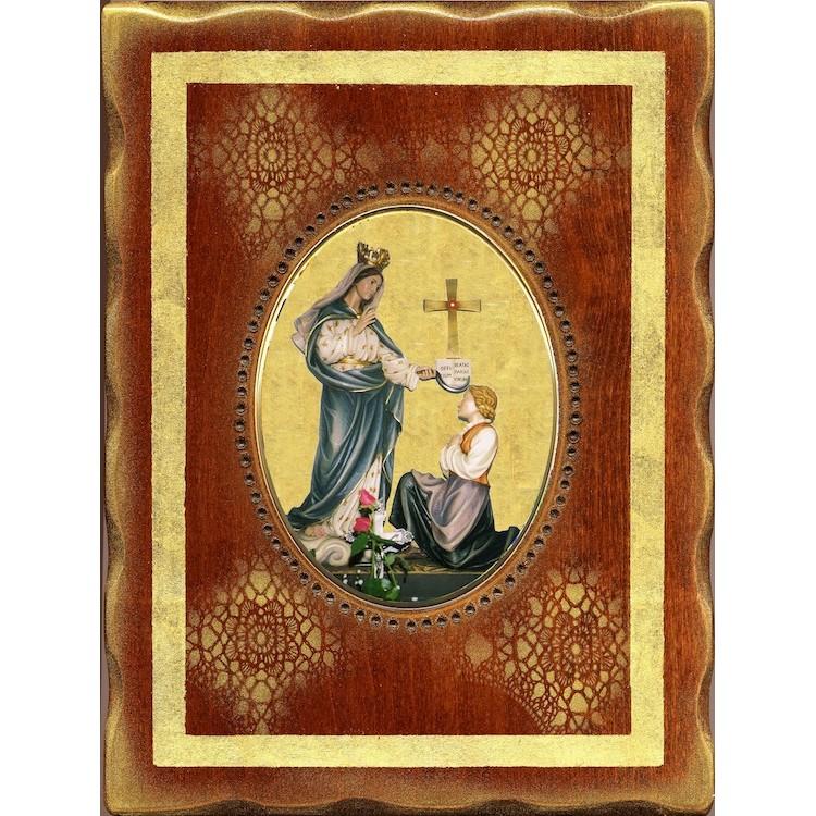 La Madonna di Porzus  18x24 cm.