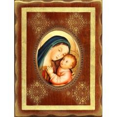 La Madonna del Buon Consiglio 18x24 cm.