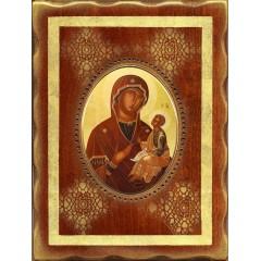 La Madonna di Sclavons 18x24 cm.