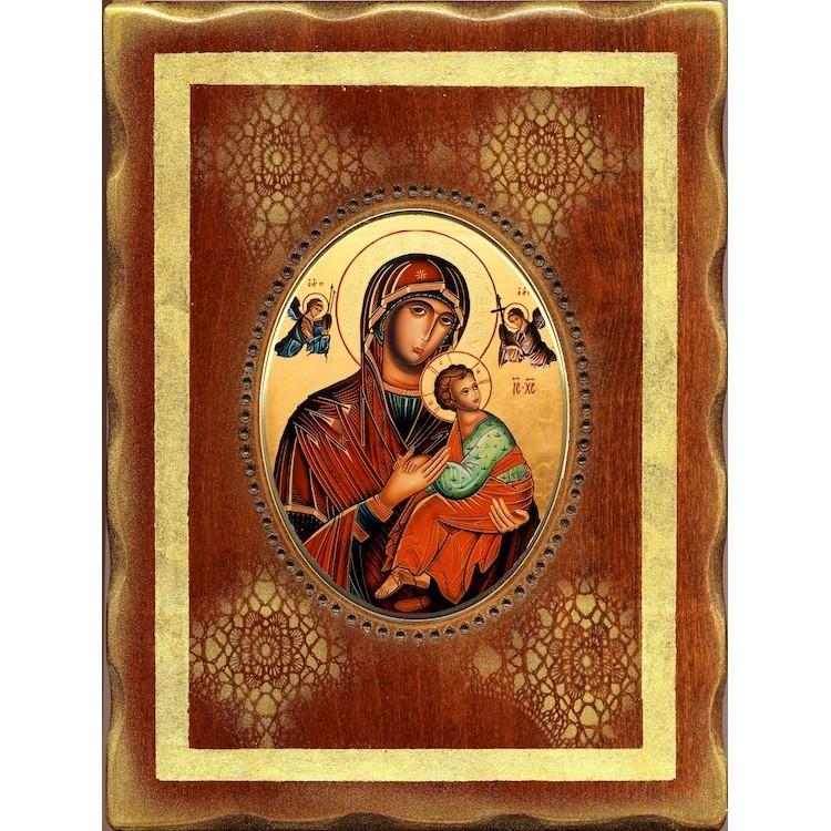 La Madonna del Perpetuo Soccorso 18x24 cm.