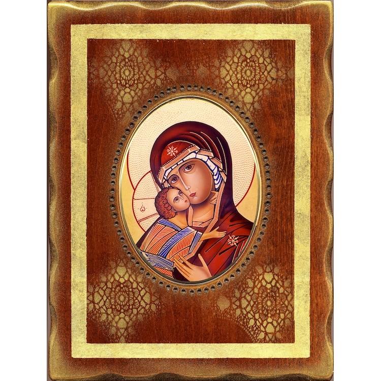 La Vergine di Vladimir 18x24 cm.