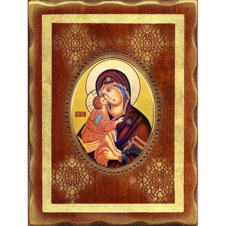 La Vergine della Tenerezza 18x24 cm.