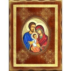 La Sacra Famiglia 18x24 cm.