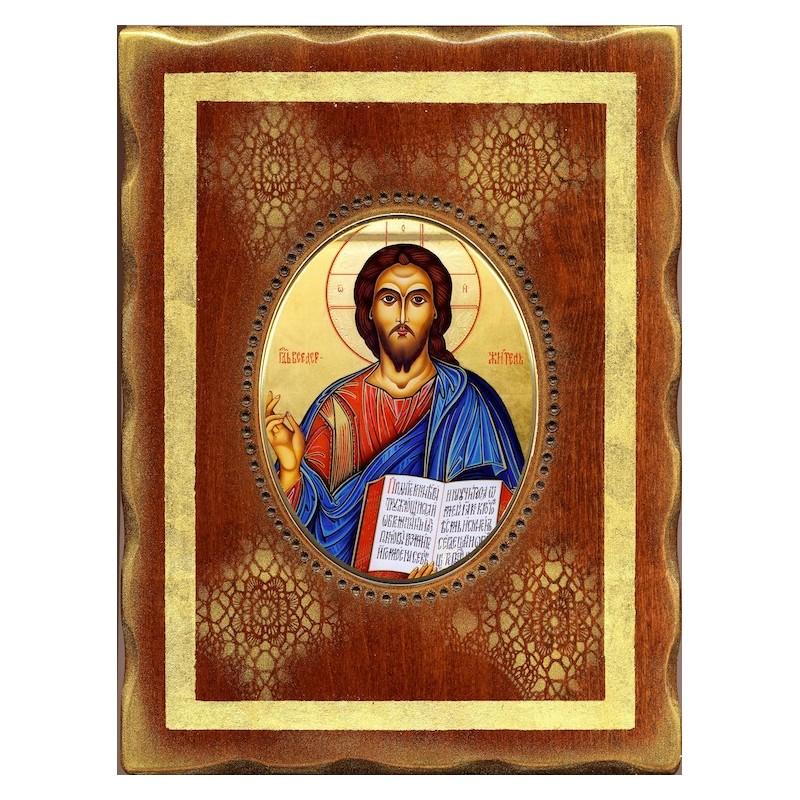 Cristo Pantocrator 18x24 cm.