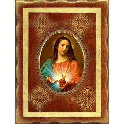 Il Sacro Cuore di Gesù 18x24 cm.