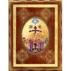 Cristo Crocifisso 18x24 cm.