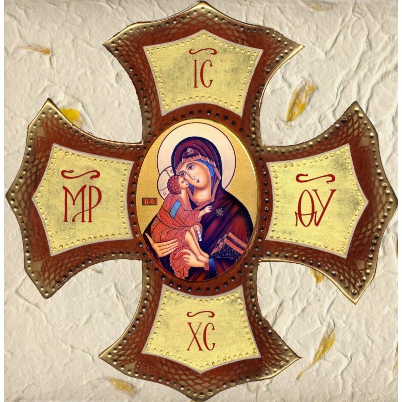 Vergine della Tenerezza Ovale