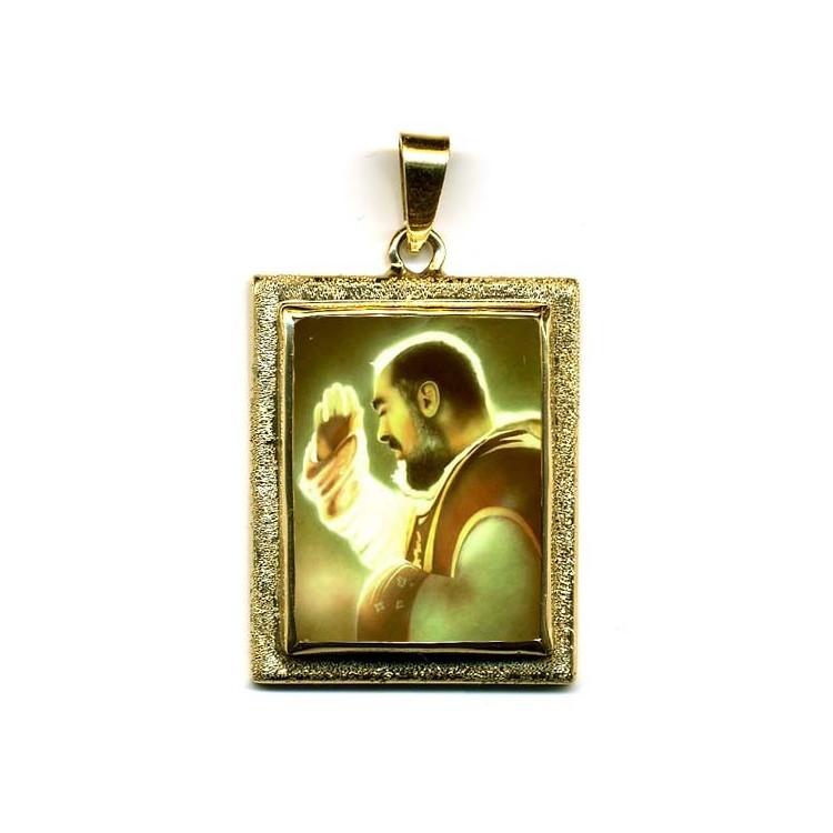Cristo Crocifisso su Pendente in Oro 750°°°
