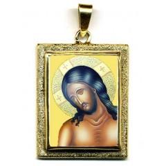 Cristo Sposo su Pendente in Oro 750°°°