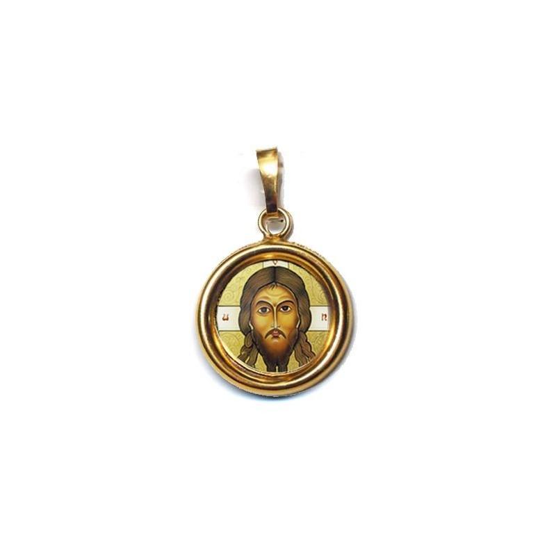 Il Santo Keramion su Ciondolo in Argento 925°°° Lucido o Diamantato