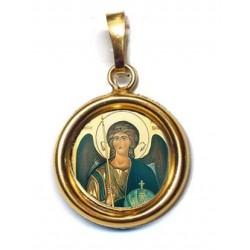 L' Arcangelo Michele su Ciondolo in Argento 925°°° Lucido o Diamantato