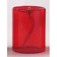 Vetro rosso integrato 4 gg. 75x100 mm.