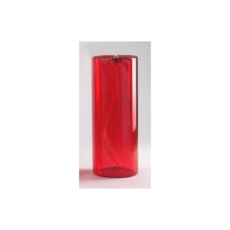 Vetro rosso integrato 8 gg. 75x200 mm.
