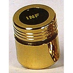 Vasetto dorato olii santi Ø 38x45 h. mm