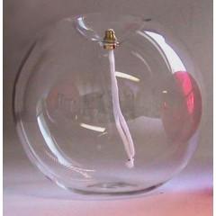 Boccia in vetro Trasparente ø 16 cm.