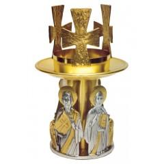 Lampada da Mensa con Evangelisti h.23 cm
