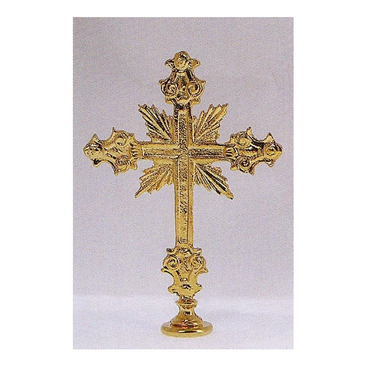 Puntale Croce per Portastendardo 10x16 cm.