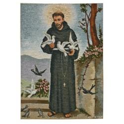 Arazzo con San Francesco