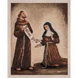 Arazzo con La Regola di San Francesco