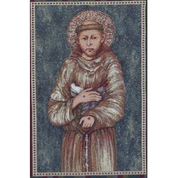 Arazzo San Francesco con cornice