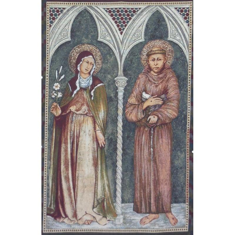 Francesco e Chiara a pala