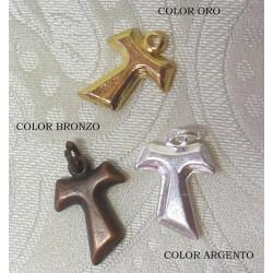 Ciondolo Tau in metallo in 3 Colorazioni