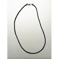Collana in Cotone cerato MARRONE da 2 mm. x 46 cm