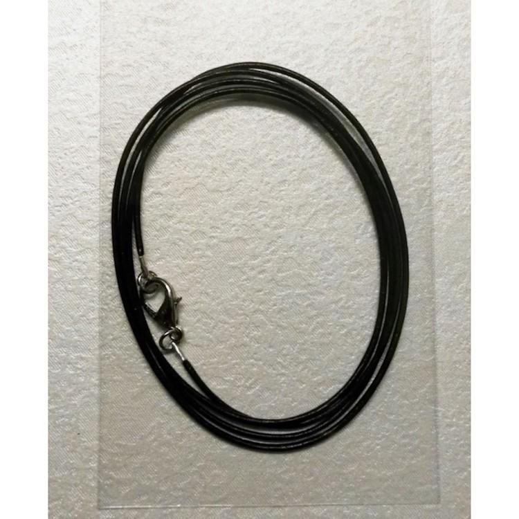 Collana Regolabile in Cotone cerato da 2,5 mm. x 70 cm