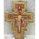 Croce San Damiano Foglia Oro 4 misure