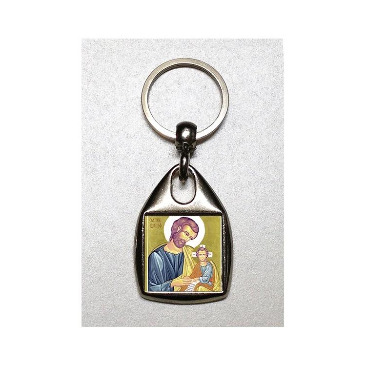 Portachiavi con San Giuseppe
