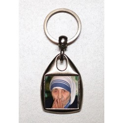 Portachiavi quadrato con San Giuseppe