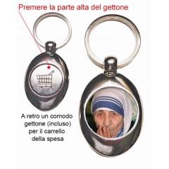 Portachiavi con Madre Teresa