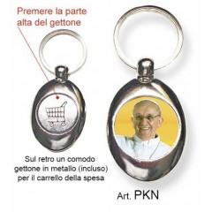 Portachiavi con il Papa Francesco