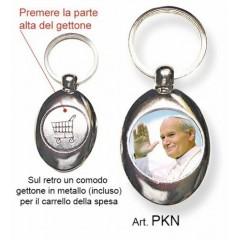 Portachiavi con il Papa Giovanni Paolo II