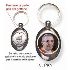 Portachiavi con il Papa Giovanni Paolo I