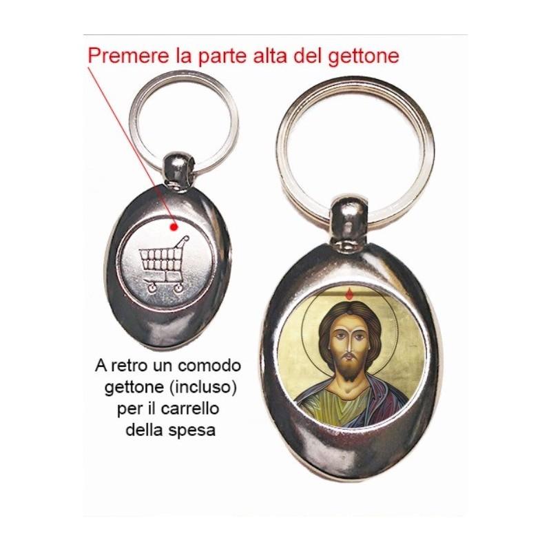 Portachiavi con San Giuda Taddeo