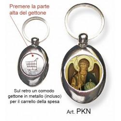 Portachiavi con L'Arcangelo Michele