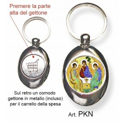 Portachiavi con la Santissima Trinità