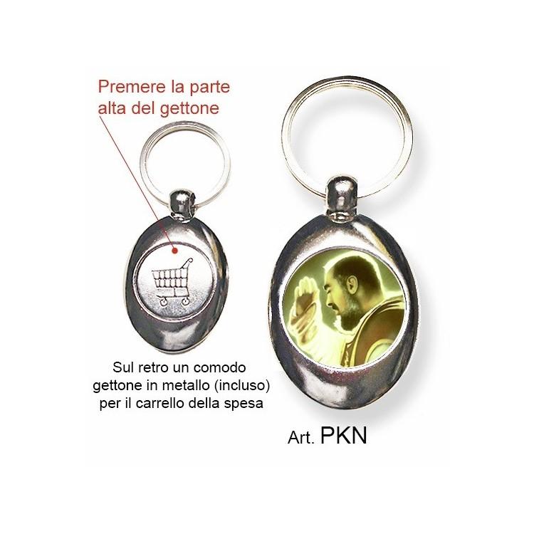 Portachiavi con San Pio da Pietrelcina
