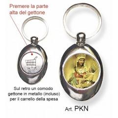 Portachiavi con la Madonna di Castelmonte