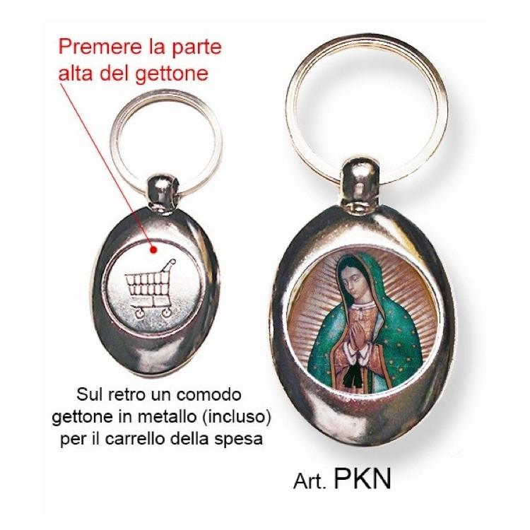 Portachiavi con Nostra Signora da Guadalupe