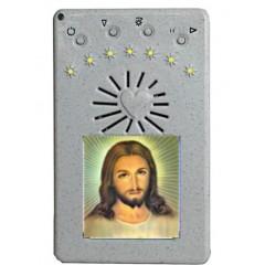 VANGELO Elettronico Bianco con Immagine in RESINA